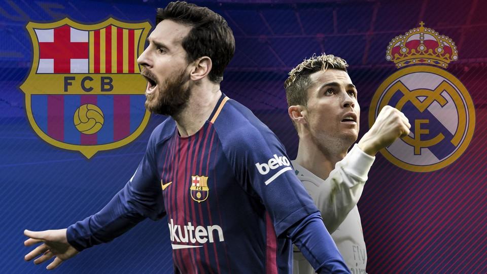 Барселона - Реал эль классико