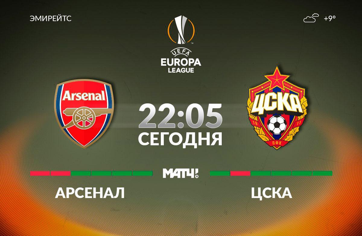 Арсенал – ЦСКА прогноз на ЛЕ