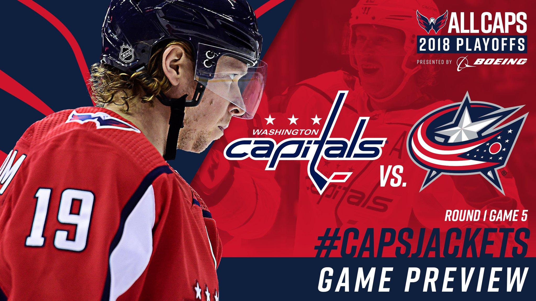 Вашингтон - Коламбус прогноз на пятый матч НХЛ