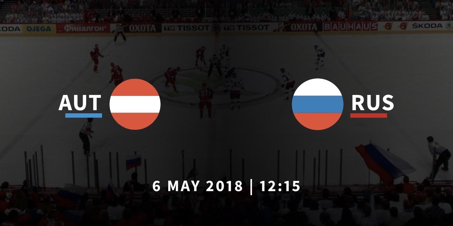 Австрия - Россия хоккей