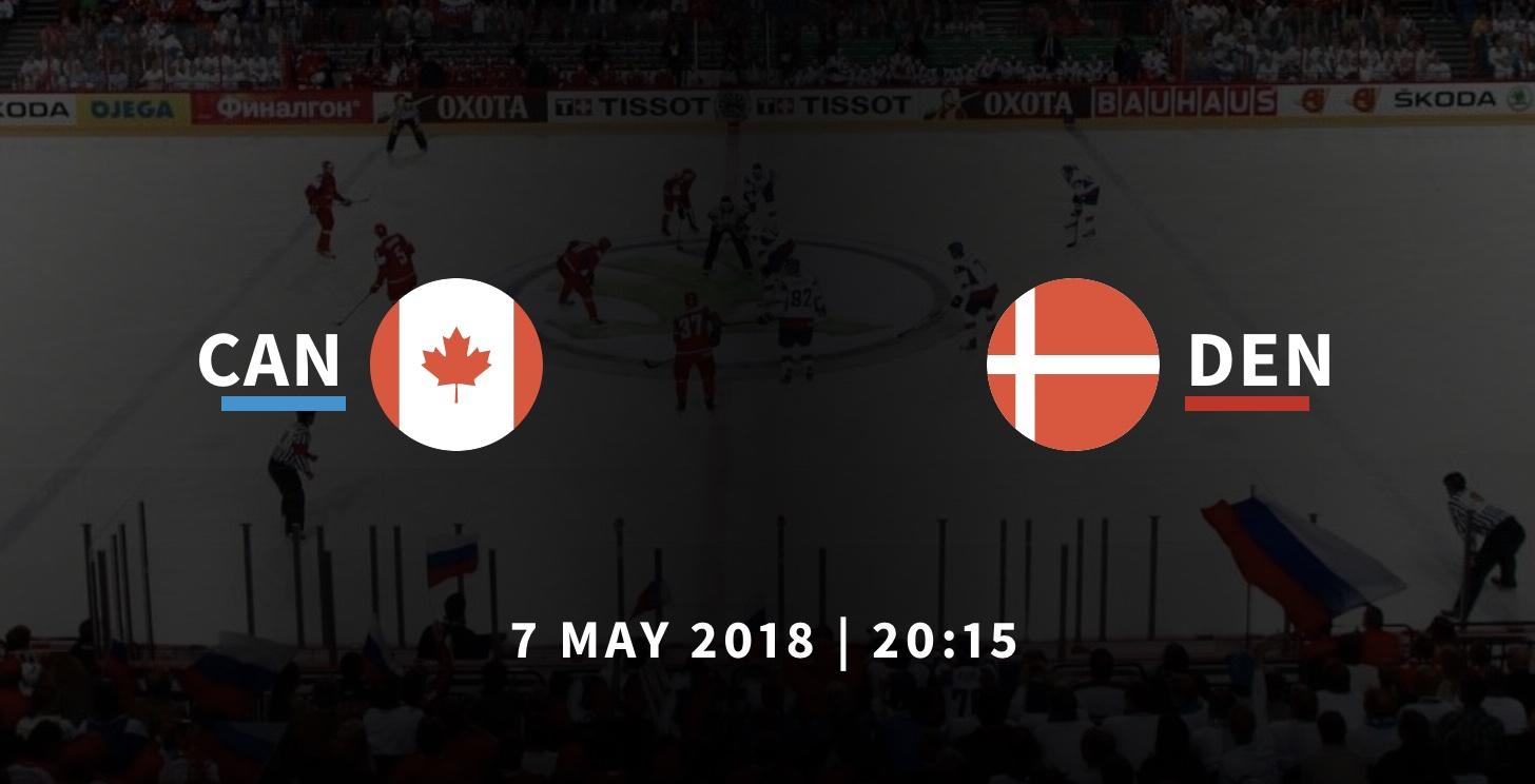 Канада - Дания ЧМ-2018 по хоккею