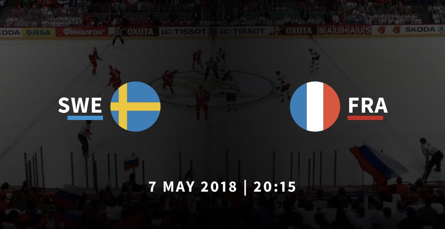 Швеция - Франция хоккей