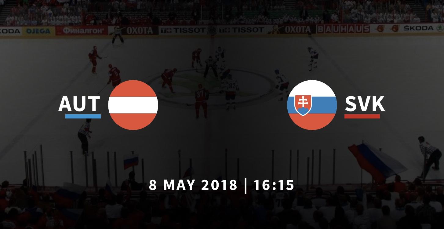 Австрия - Словакия чемпионат мира по хоккею