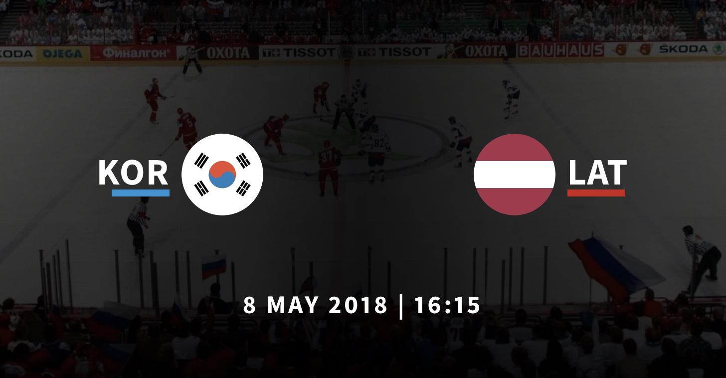 Южная Корея - Латвия прогноз