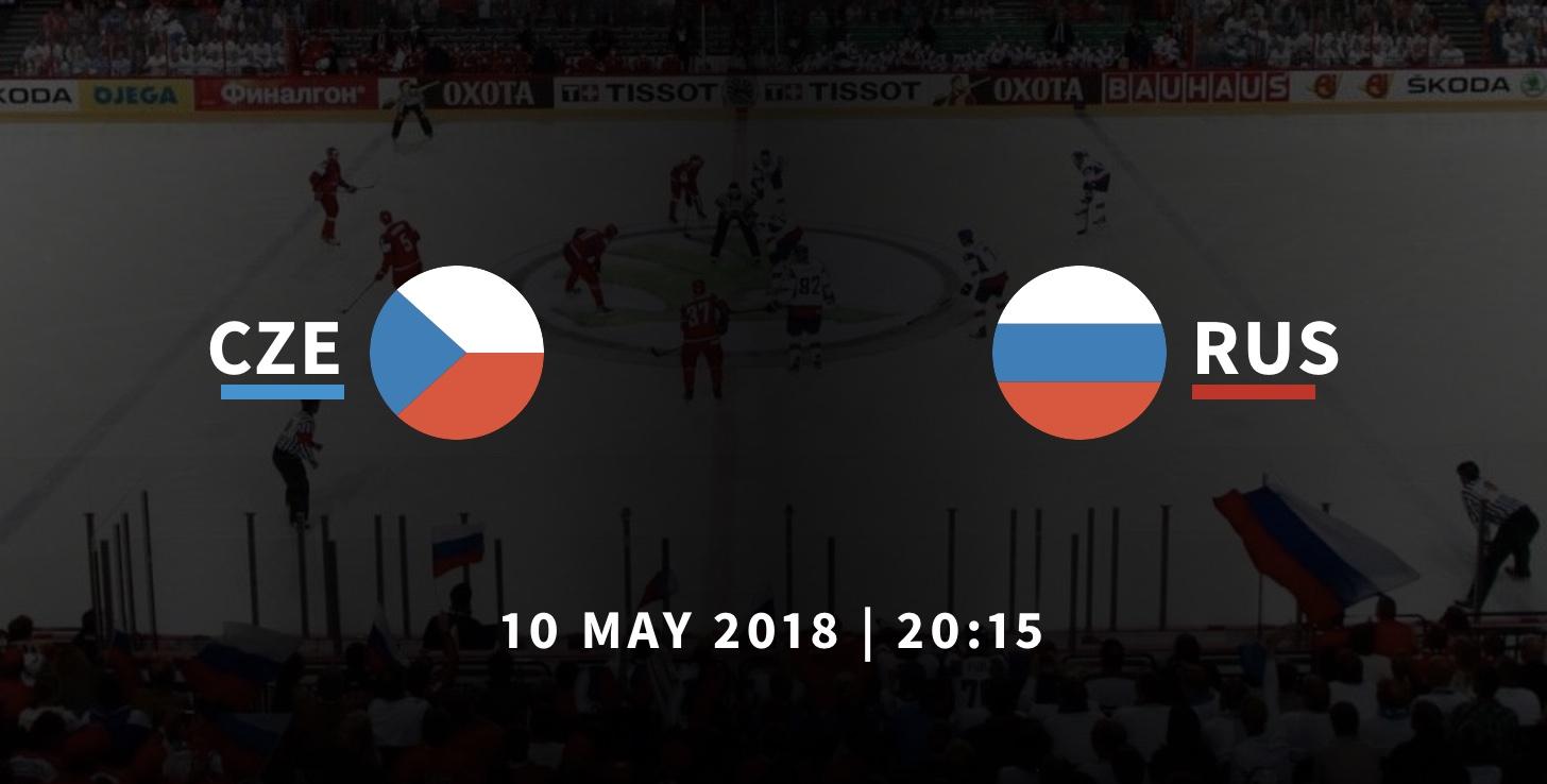 Россия - Чехия хоккей