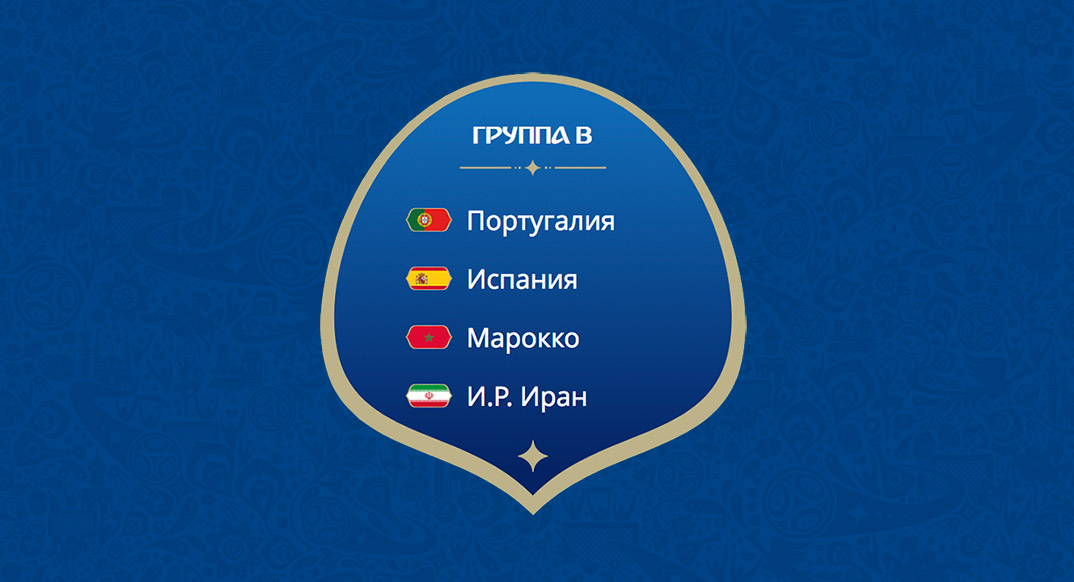 ЧМ-2018 по футболу. Группа B.
