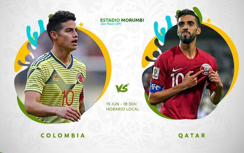 Колумбия - Катар