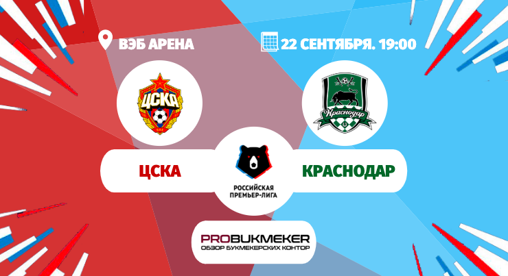 ЦСКА - Краснодар