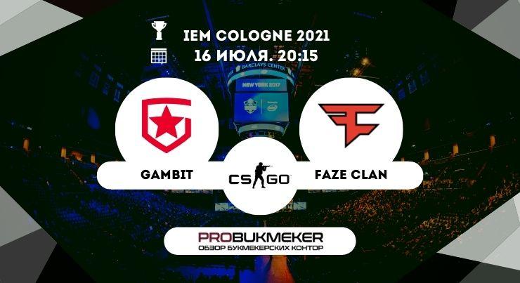 Gambit – FaZe Clan