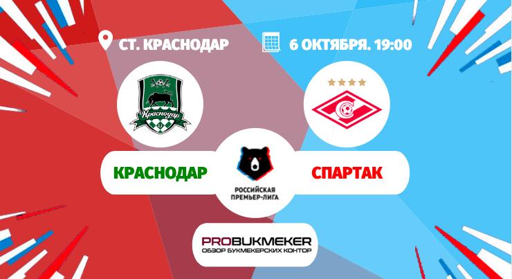 Краснодар - Спартак