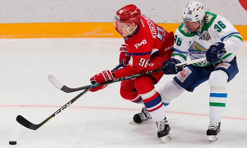 Локомотив - Салават Юлаев