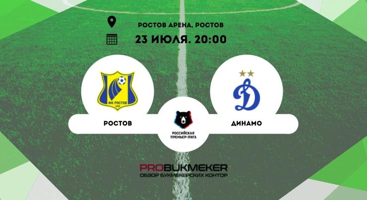 Ростов – Динамо Москва