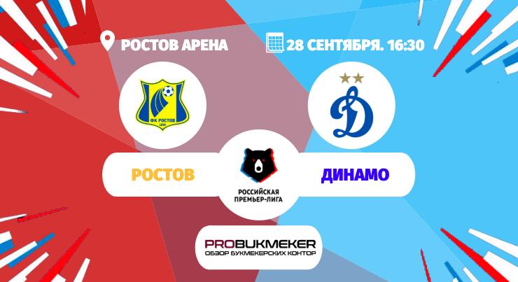 Ростов - Динамо Москва