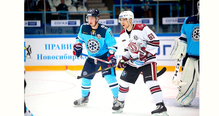 Сибирь - Динамо Рига