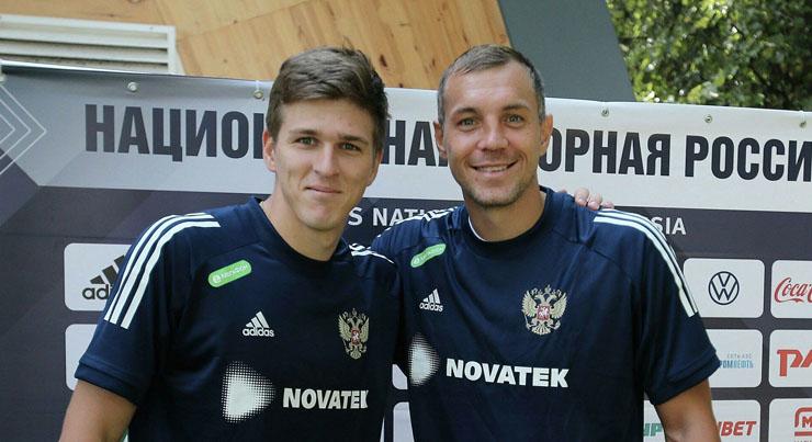 Артём Дзюба и Александр Соболев