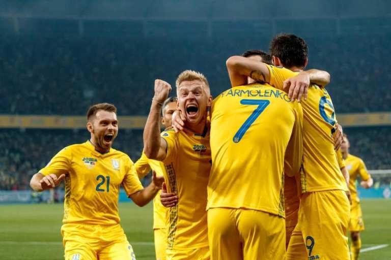 Украина в плей-офф Евро-2020